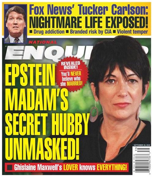 National Enquirer Cover - 9/28/2020