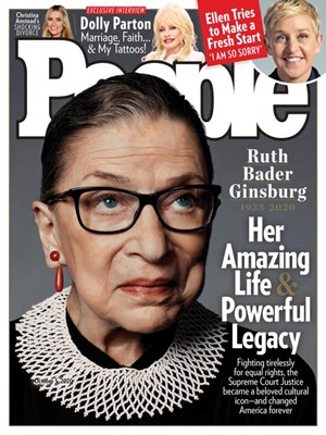 People Magazine | 10/5/2020 Cover