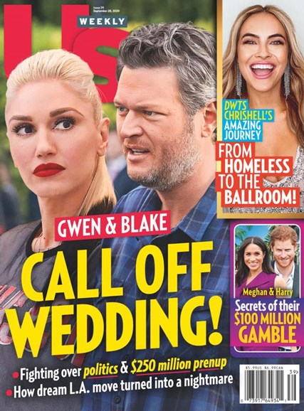 Us Weekly Cover - 9/28/2020