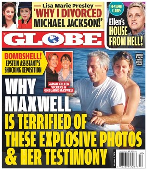 Globe Magazine   10/5/2020 Cover