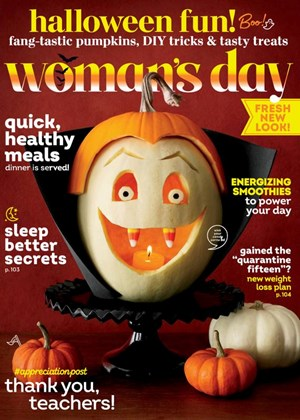 Woman's Day Magazine | 9/2020 Cover