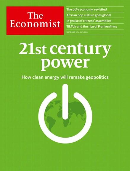 The Economist Cover - 9/19/2020