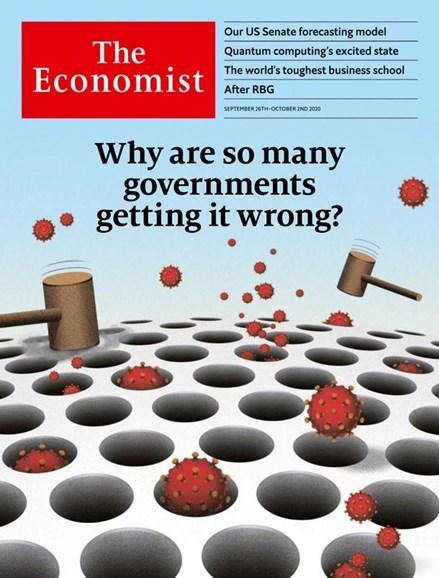 The Economist Cover - 9/26/2020