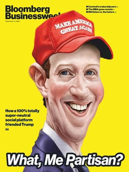 Bloomberg Businessweek Cover - 9/21/2020