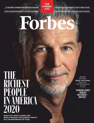 Forbes Magazine | 10/2020 Cover