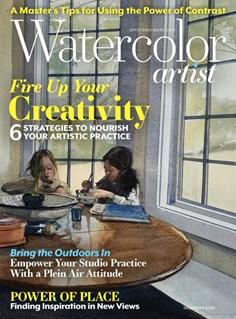 Watercolor Artist | 12/2020 Cover