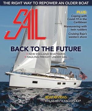 Sail Magazine   8/2020 Cover