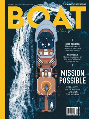 Boat International Magazine | 10/2020 Cover