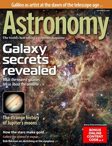 Astronomy | 11/2020 Cover