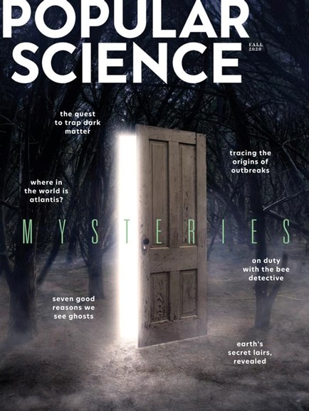 Popular Science Cover - 9/1/2020