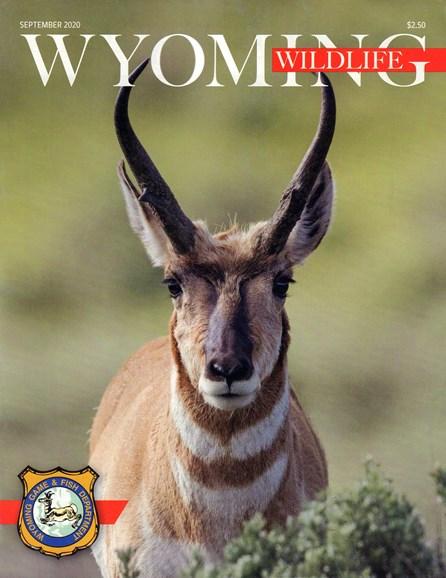 Wyoming Wildlife Cover - 9/1/2020