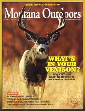 Montana Outdoors Magazine | 9/2020 Cover