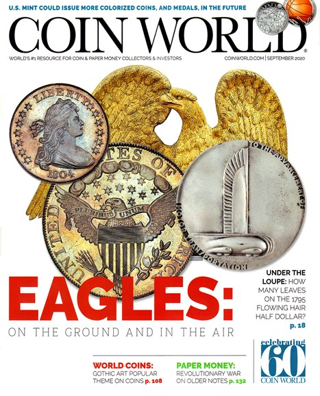 Coin World Monthly Cover - 9/1/2020