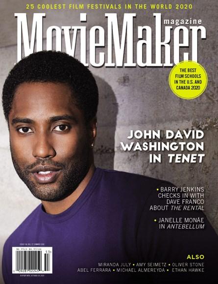 Moviemaker Magazine Cover - 9/1/2020