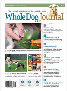 Whole Dog Journal | 10/2020 Cover