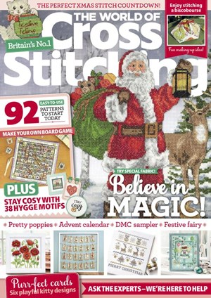 The World of Cross Stitching Magazine | 11/2020 Cover