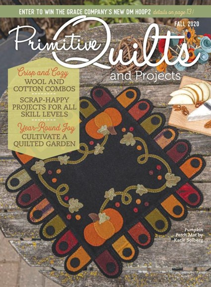 Primitive Quilts & Projects Cover - 9/1/2020