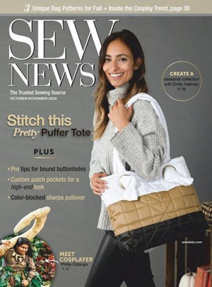 Sew News Magazine | 10/2020 Cover