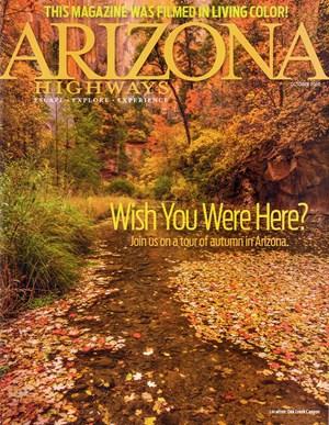 Arizona Highways Magazine   10/2020 Cover