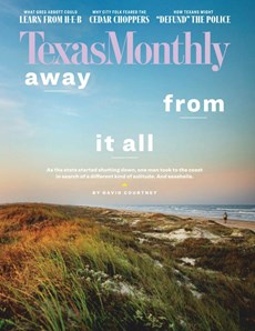 Texas Monthly | 8/2020 Cover