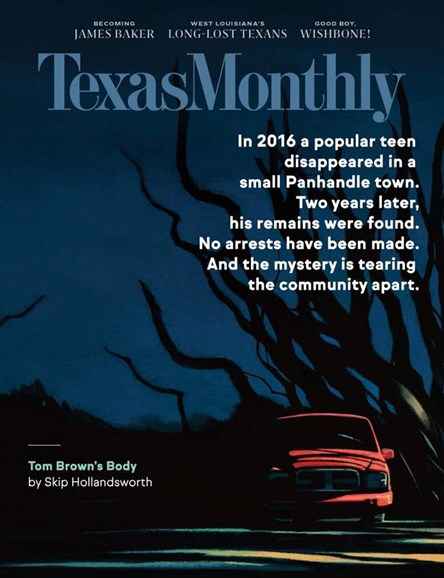 Texas Monthly Cover - 10/1/2020