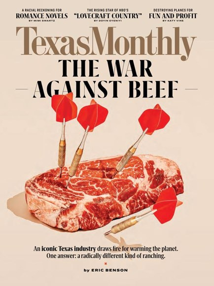 Texas Monthly Cover - 9/1/2020