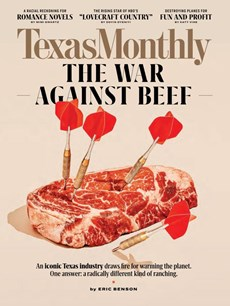Texas Monthly | 9/2020 Cover