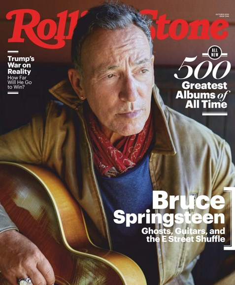 Rolling Stone Cover - 10/1/2020