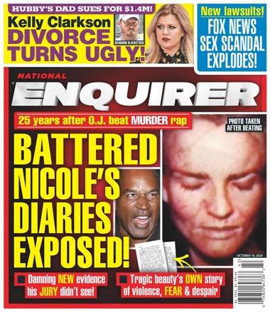 National Enquirer   10/2020 Cover