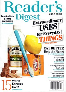 Reader's Digest - Large Print Edition | 10/2020 Cover