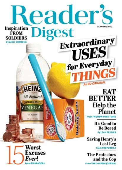 Reader's Digest Cover - 10/1/2020