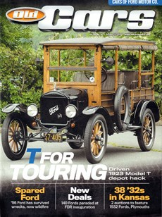 Old Cars   10/2020 Cover