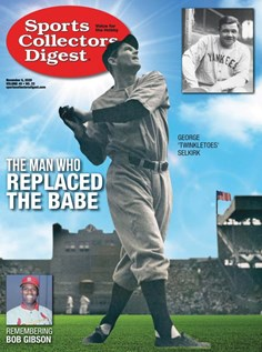 Sports Collectors Digest | 11/2020 Cover