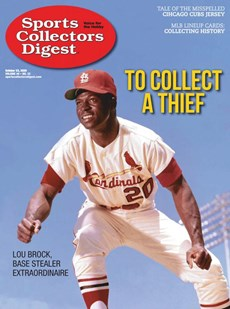 Sports Collectors Digest | 10/2020 Cover
