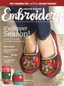 Creative Machine Embroidery | 12/2020 Cover