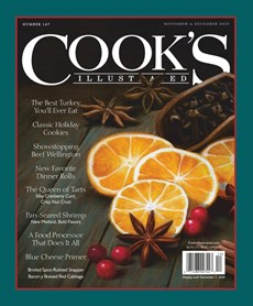 Cook's Illustrated | 11/2020 Cover