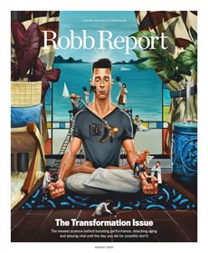 Robb Report   8/2020 Cover