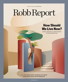 Robb Report   10/2020 Cover