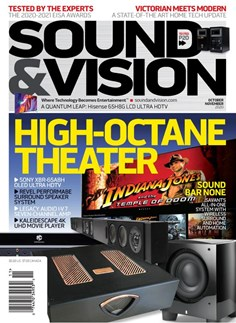 Sound & Vision | 10/2020 Cover