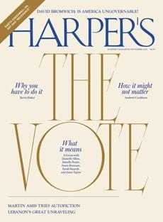 Harper's | 11/2020 Cover