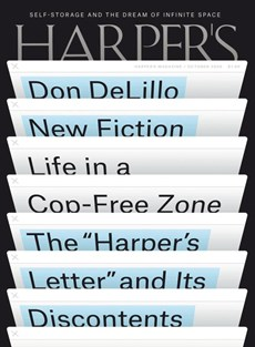 Harper's | 10/2020 Cover