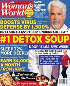 Woman's World   11/2020 Cover