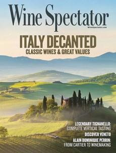 Wine Spectator | 10/2020 Cover