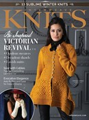 Interweave Knits | 1/2021 Cover