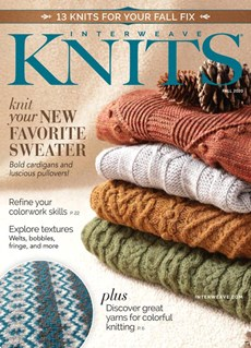 Interweave Knits | 9/2020 Cover