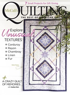 McCall's Quilting | 11/2020 Cover