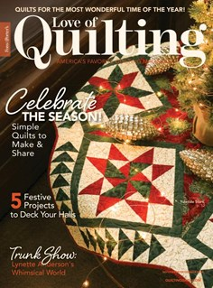 Fons & Porter's Love of Quilting | 11/2020 Cover