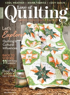 Fons & Porter's Love of Quilting | 9/2020 Cover