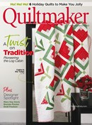 Quiltmaker | 11/2020 Cover