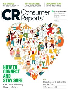 Consumer Reports | 12/2020 Cover